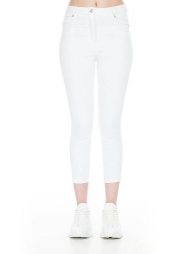 Bebe Plus Pantolon Beyaz
